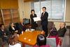 宮城ネットが消費税率の引き上げ反対の団体署名(122団体分)を提出し、県選出国会議員へ陳情