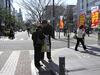「私も署名するわ」と75人分が、静岡県各界連の2月宣伝行動